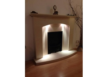 Flur Marble Fireplace 48""