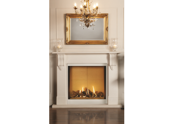 Shell Corbel Egyptian Limestone Surround