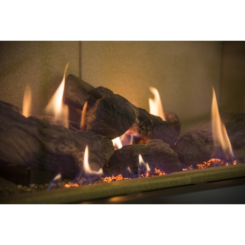 Azure Gas Fire