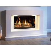 Medium Azure Landscape Gas Fire