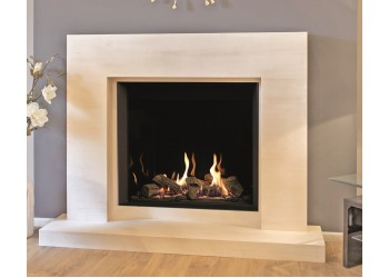 Cube Natural Stone Fireplace