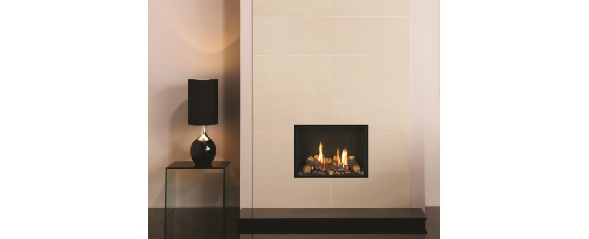 Small Azure Infinity (Frameless) Gas Fire