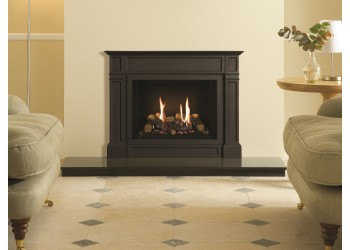Small Azure Senator Cast Iron Gas Fire