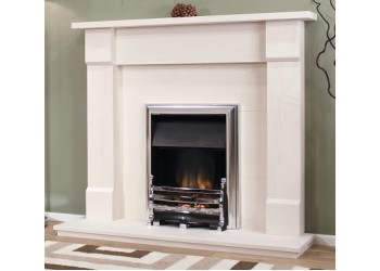 Stowbridge Natural Portuguese Lime Stone Fireplace