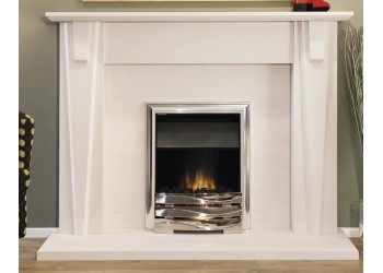 The Venetian Natural Portuguese Lime Stone Fireplace