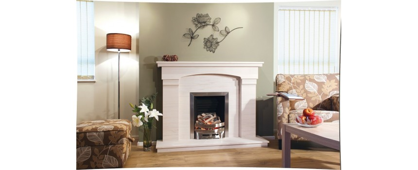 Warminster Stone Fireplace