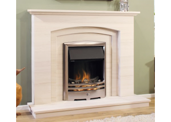 Clarendon Seventeen Natural Portuguese Lime Stone Fireplace
