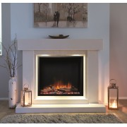 Emperor Square Inset Electric Fire Range