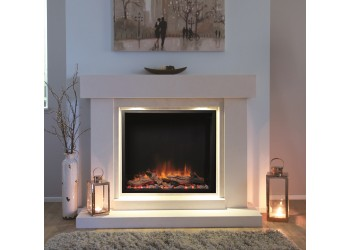 Emperor Square Infinity Electric Fire