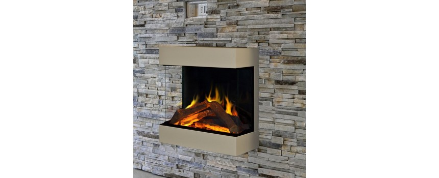 Cubic Electric Fire