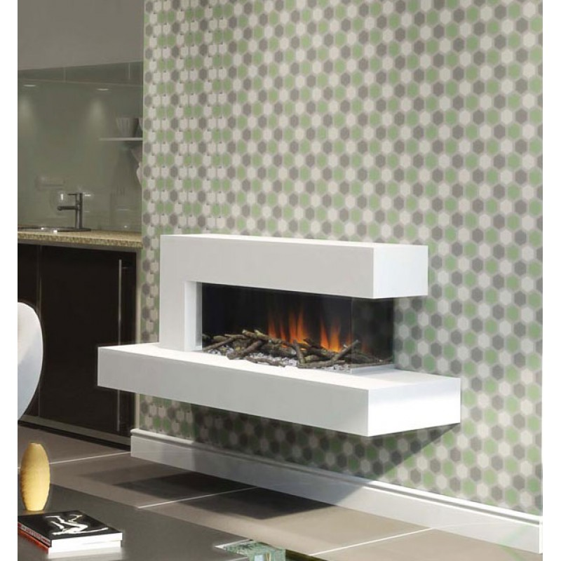Elle Contemporary Hang On The Wall Electric Fire