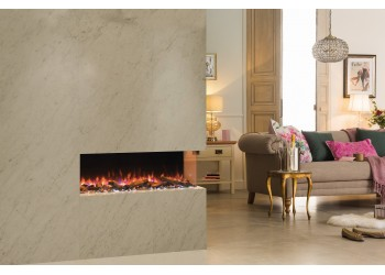 Emperor Throughview Inset Electric Fire Range