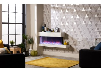 Emperor Throughview Hang on the Wall Electric Fire Range