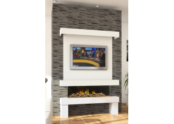 Enigma 3 Media Electric Fire