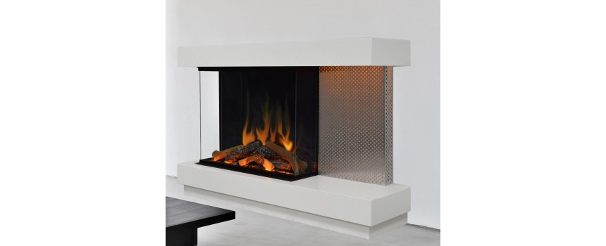 Offset Electric Fire