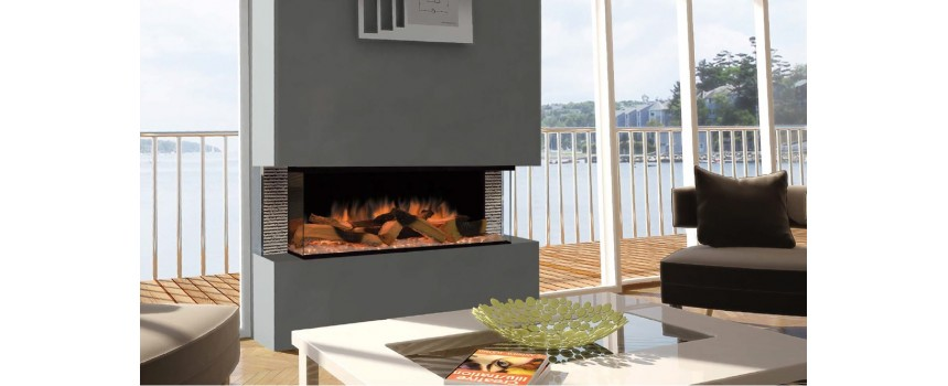 Optic Landscape Electric Fire