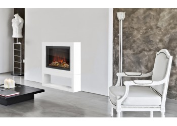 Tetris Square Modular Electric Fire