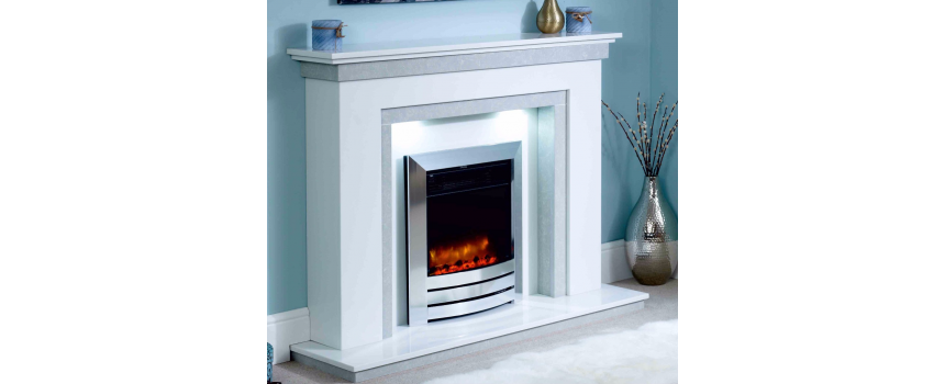 Cleo Marble Fireplace