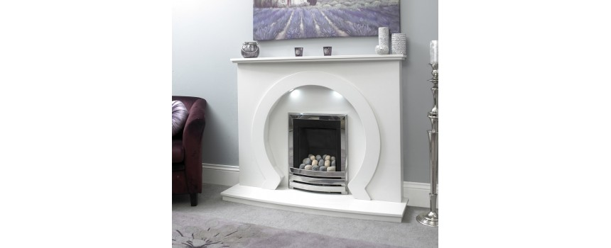 Omega Marble Fireplace