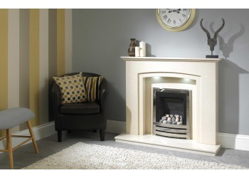 Ramsey Marble Fireplace