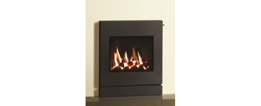 Amber Small Icon Gas Fire