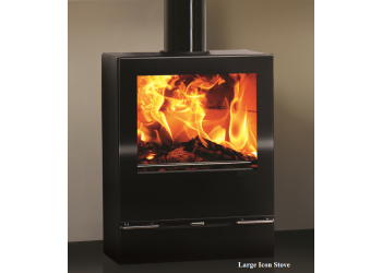 Large Icon Woodburner or Multi-fuel Stove