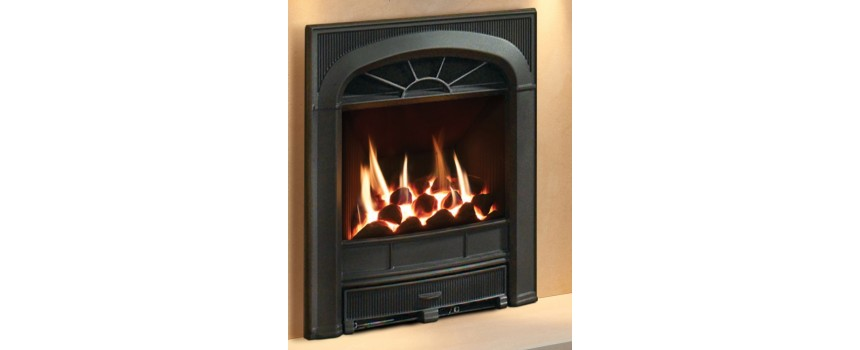 Amber Sunray Gas Fire