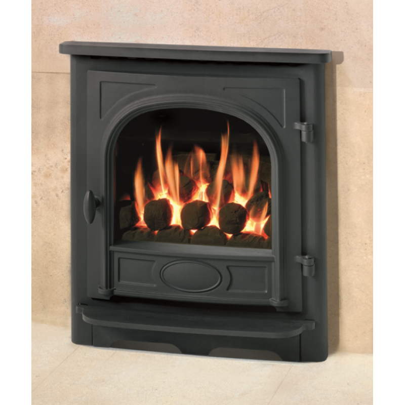 amber traditional stove gas fire. Black Bedroom Furniture Sets. Home Design Ideas