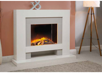 Alpha Marble Fireplace