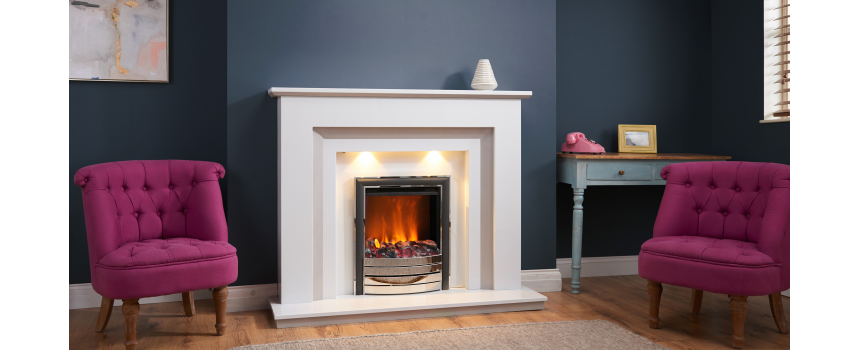 Ella Marble Fireplace