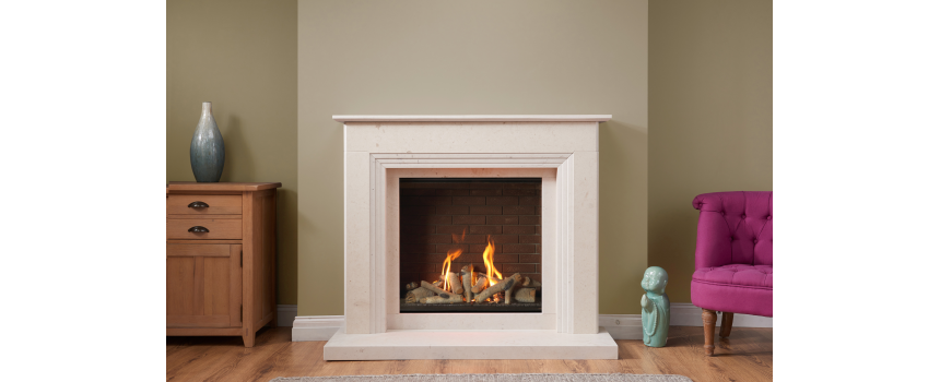 Mia Stone Fireplace