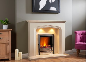 Tipolli Marble Fireplace