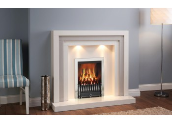 Zack Marble Fireplace
