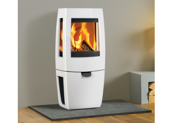 Eva Glass Contemporary Stove 5kw Woodburner