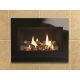 Matrix Ludo Black Glass Gas Fires