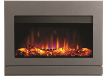 Matrix Satin Ludo Electric Fire