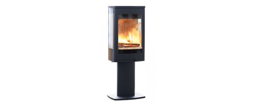 Continental 5 Wood Burning Stove Pedestal