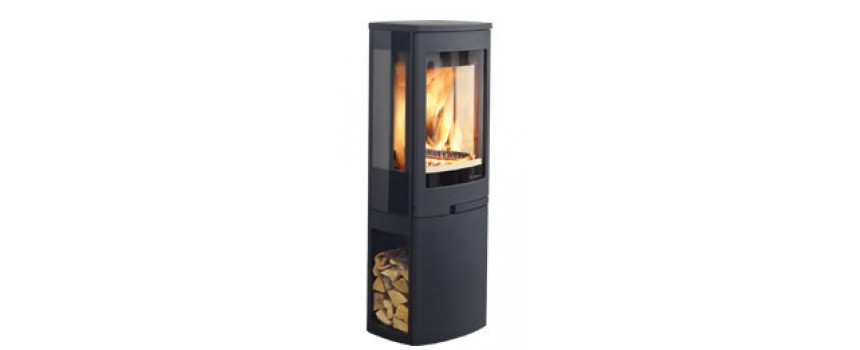 Continental 5 Wood Burning Stove with Log Store