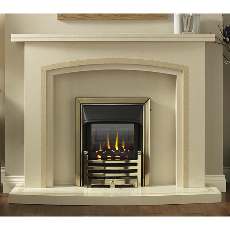 Blenheim Marble Fireplace Cream