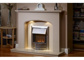 Charlotte Marble Fireplace