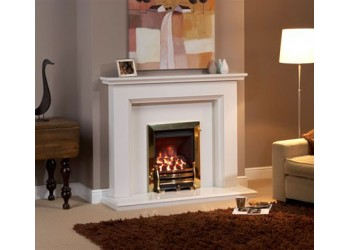 Hatfield Marble Fireplace