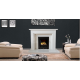 Plain Highgrove Marble Fireplace