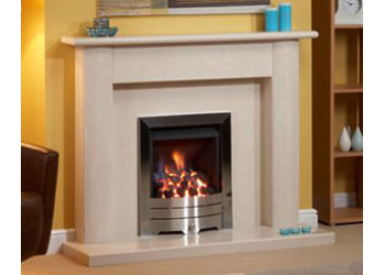 Sheraton Straight Marble Fireplace