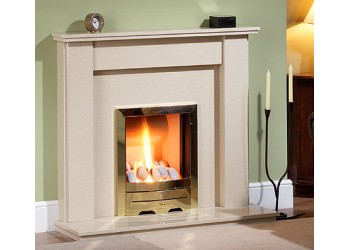 Naples Plus Marble Fireplace