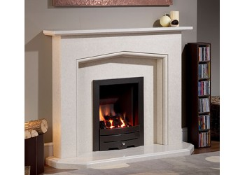 Tunic Marble Fireplace