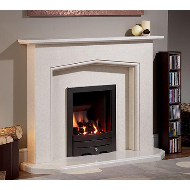 Tunic Natural Portuguese Limestone Fireplace