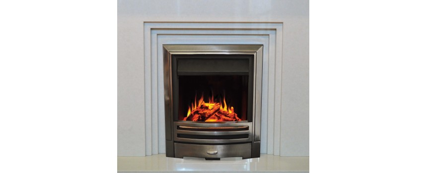 PremierFlame Pompeii Glass Fronted Electric Fire