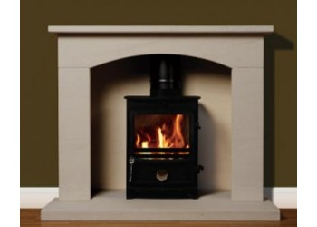 Rio Natural Portuguese Limestone Fireplace