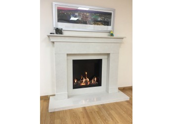 Saxon Marble Fireplace