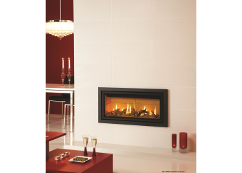 Slice Gas Fire with Small Trim